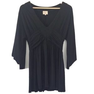 Paige V-Neck Wide Sleeves Blouse size M